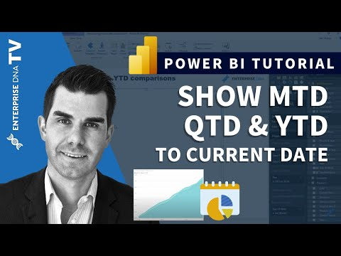 Show MTD, QTD & YTD Calculations To Current Date in Power BI