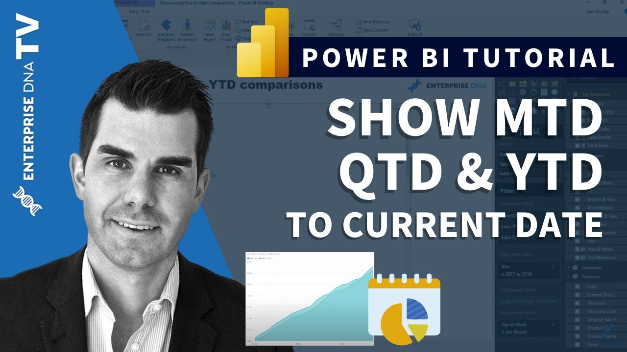 Show MTD, QTD & YTD Calculations To Current Date in Power BI w/DAX