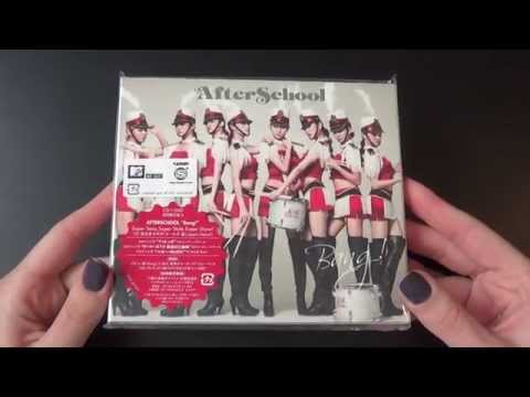 Unboxing After School 1st Japanese Single Album Bang! [Type A]