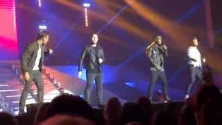 Blue -  All Rise - The Big Reunion Boy Band Tour 2014 - Bournemouth BIC