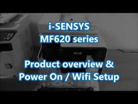 MF628Cw MF623Cn - Unboxing, Product features overview, Product setup, power on and wifi setup