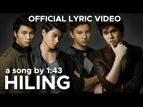 HILING by 1:43 (Official Lyric Video)