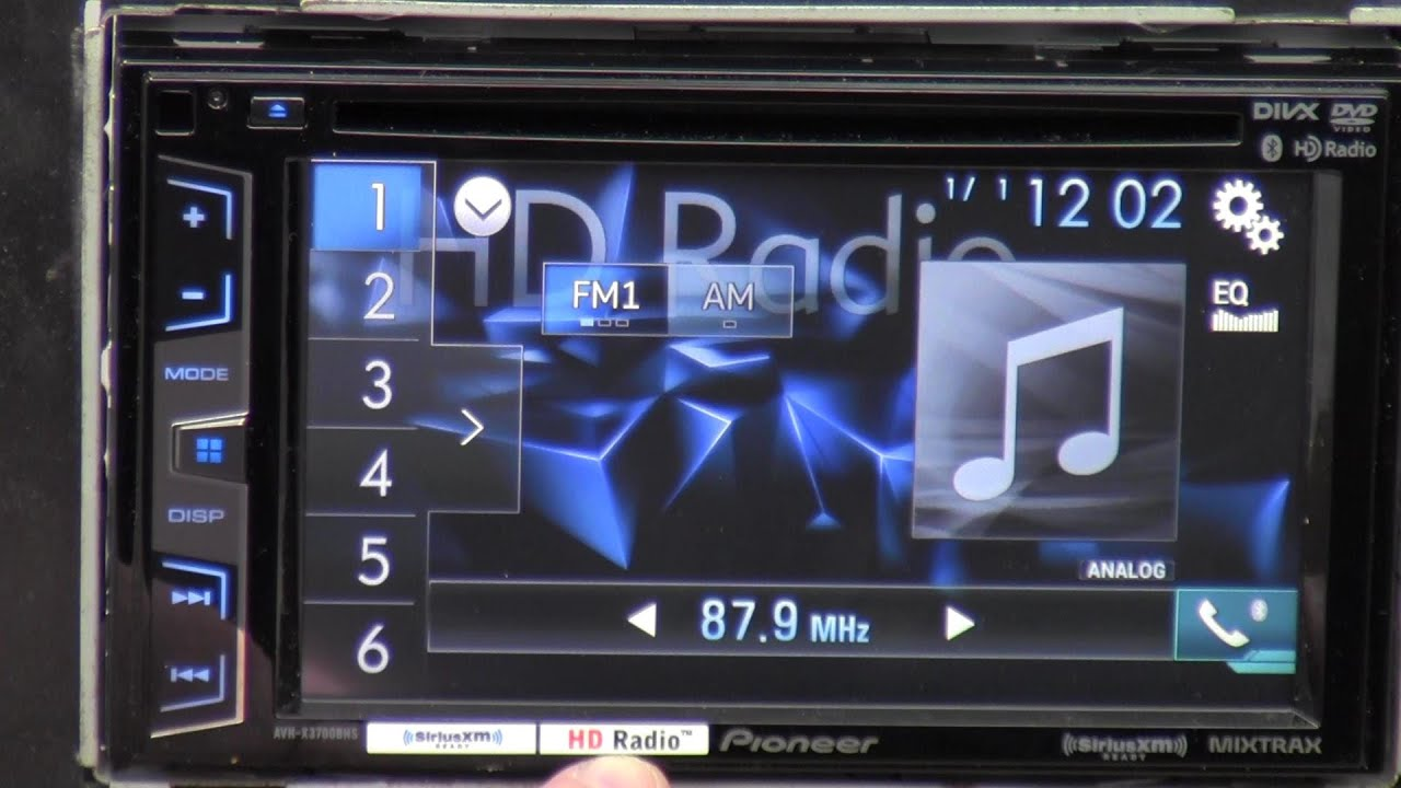 Pioneer AVHXBHS Out Of The Box YouTube - Pioneer avh x3700bhs wiring diagram