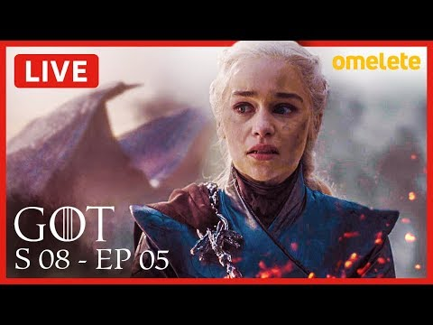 GAME OF THRONES S08E05 COMENTADO