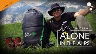 Alone in the ALPS: Episode 9 (bivi paragliding)