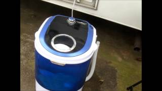 Fulltime RVing  Demo Mini Washer and a Salad Spinner