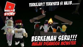 BERKEMAH SERU MALAH DIGANGGU M0N5TER - CAMPING ROBLOX - STORY - CERITA ROBLOX INDONESIA