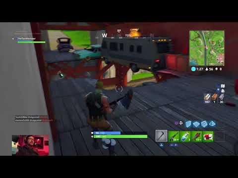 [PS4] [FORTNITE] Gaming with TheTeeMonster | The Morning Munch: There's Aim and then there's me.