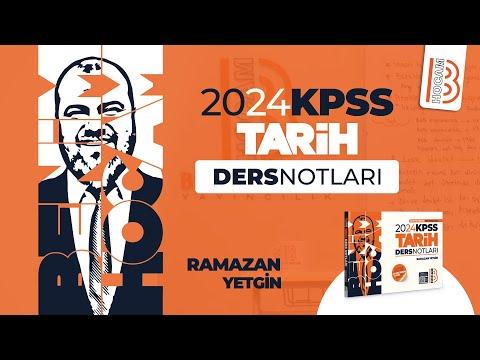 44) KPSS Tarih – 19. Yüzyılda Osmanlı Devleti Dağılma Dönemi 4 – Ramazan YETGİN – 2022