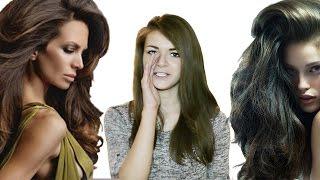 Как сделать длинные волосы объемными. Объем волос. Прическа. Укладка