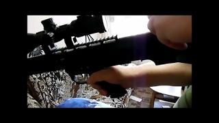 Cкорость пули  винтовки ВЛ- 12
