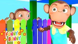 Peek a Boo Song   Nursery Rhyme & Kids Song