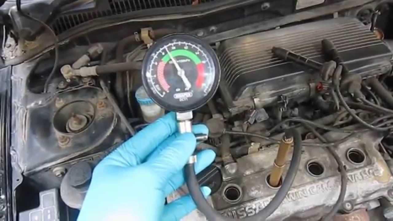 Compression Test Nissan Primera GA16DE Canon A3200
