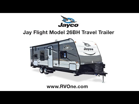 Jayco Jay Flight Model 26BH Travel Trailer