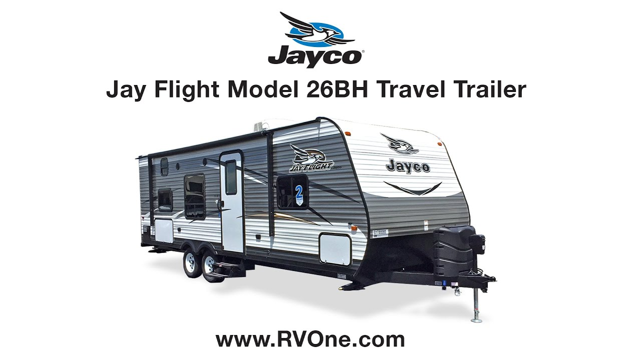 Jayco Jay Flight Model 26BH Travel Trailer on