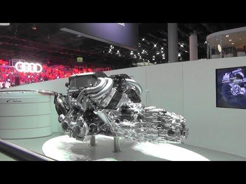 Bugatti Chiron Powertrain - International Motor Show IAA 2017 - Frankfurt