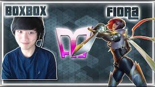 BoxBox - Fiora vs Garen - Top «Beast» (Challenger)