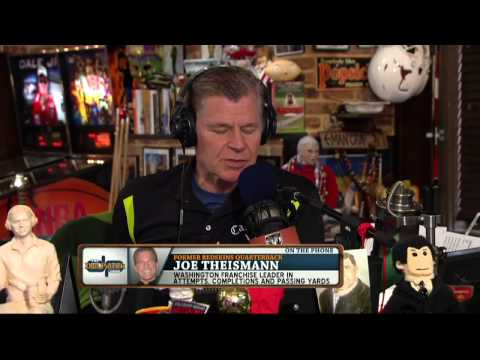 Joe Theismann on the Dan Patrick Show (Full Interview) 8/26/14