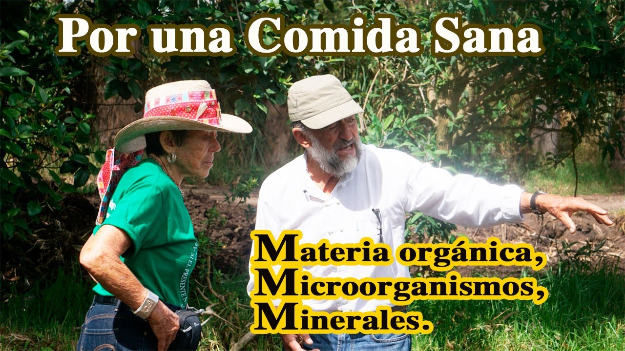 Por una Comida Sana. Materia Orgánica, Microorganismos y Minerales.