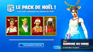 THEY ARE ALL OF RETOUR... EXCEPT FOR HIM! 😰 (Fortnite Christmas Skin)
