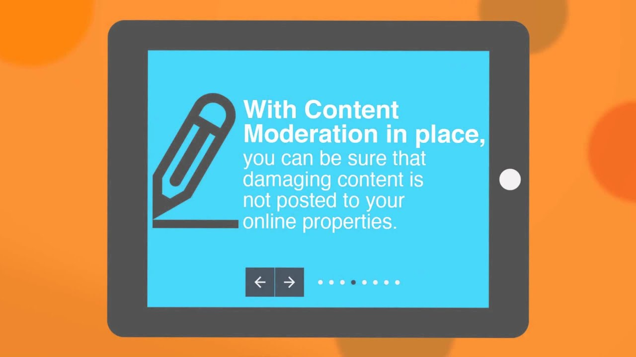 What is content moderation?