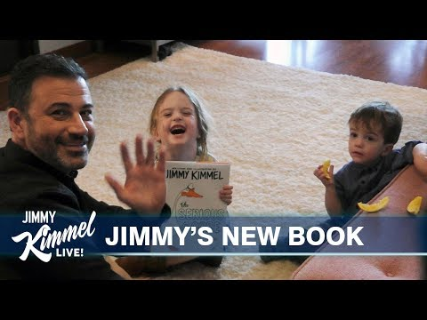 Jimmy Kimmel Reads The Serious Goose To His Kids