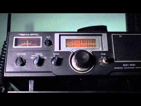 Radio Havana Cuba on Realistic DX 100 on 6165 khz