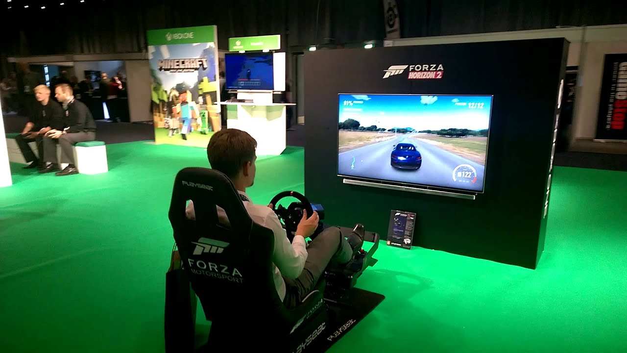 forza horizon 2 gaming chair ikea and ottoman at gamestop denmark youtube