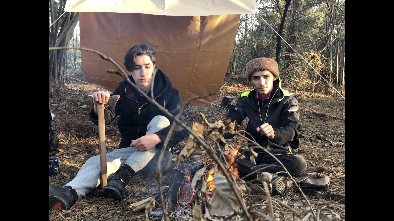 Download Doğada 12 Saat Kamp - 12 Hours Bushcraft