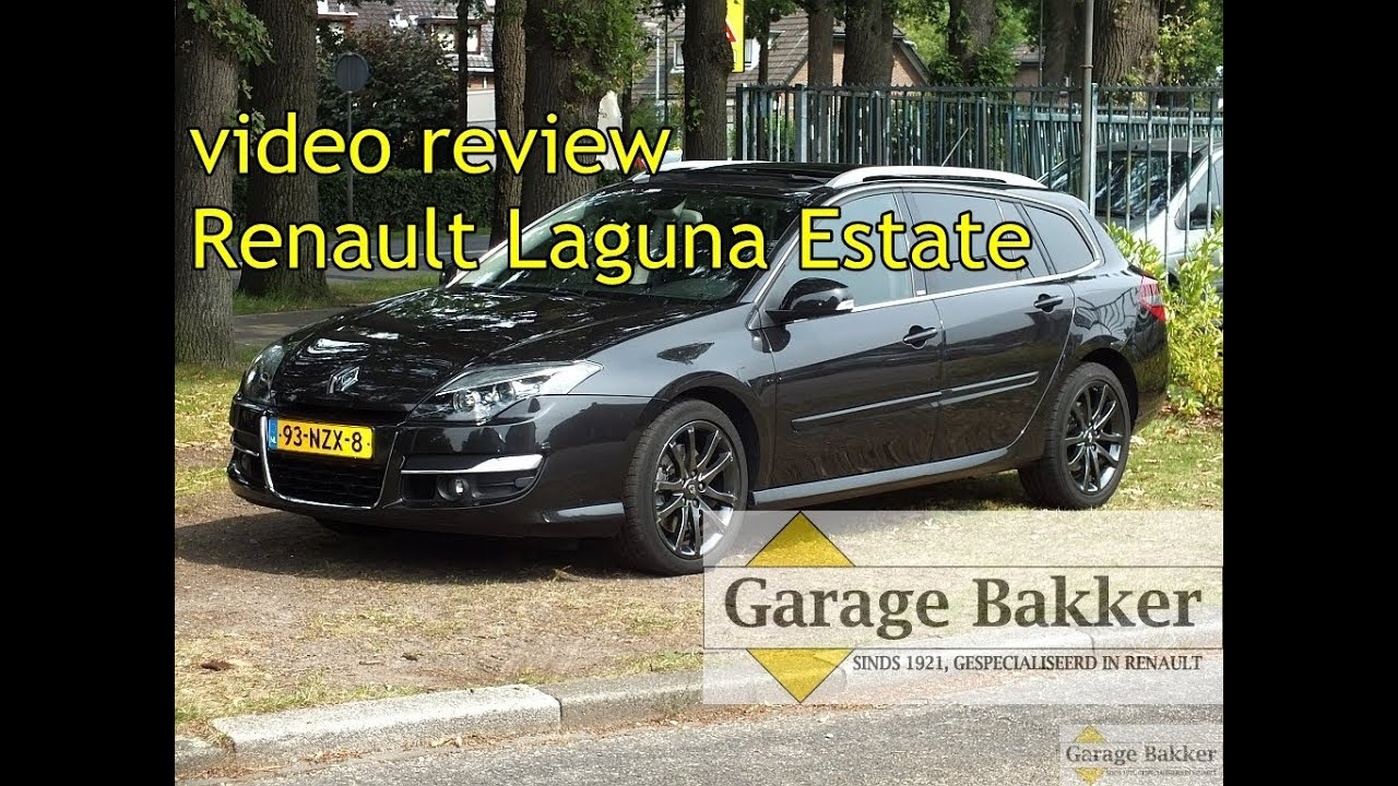 video review renault laguna estate 2 0 t 170 automaat gt line 4control 2011 93 nzx 8 youtube. Black Bedroom Furniture Sets. Home Design Ideas