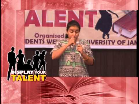 Jammu University Display your talent 18- 9- 2015