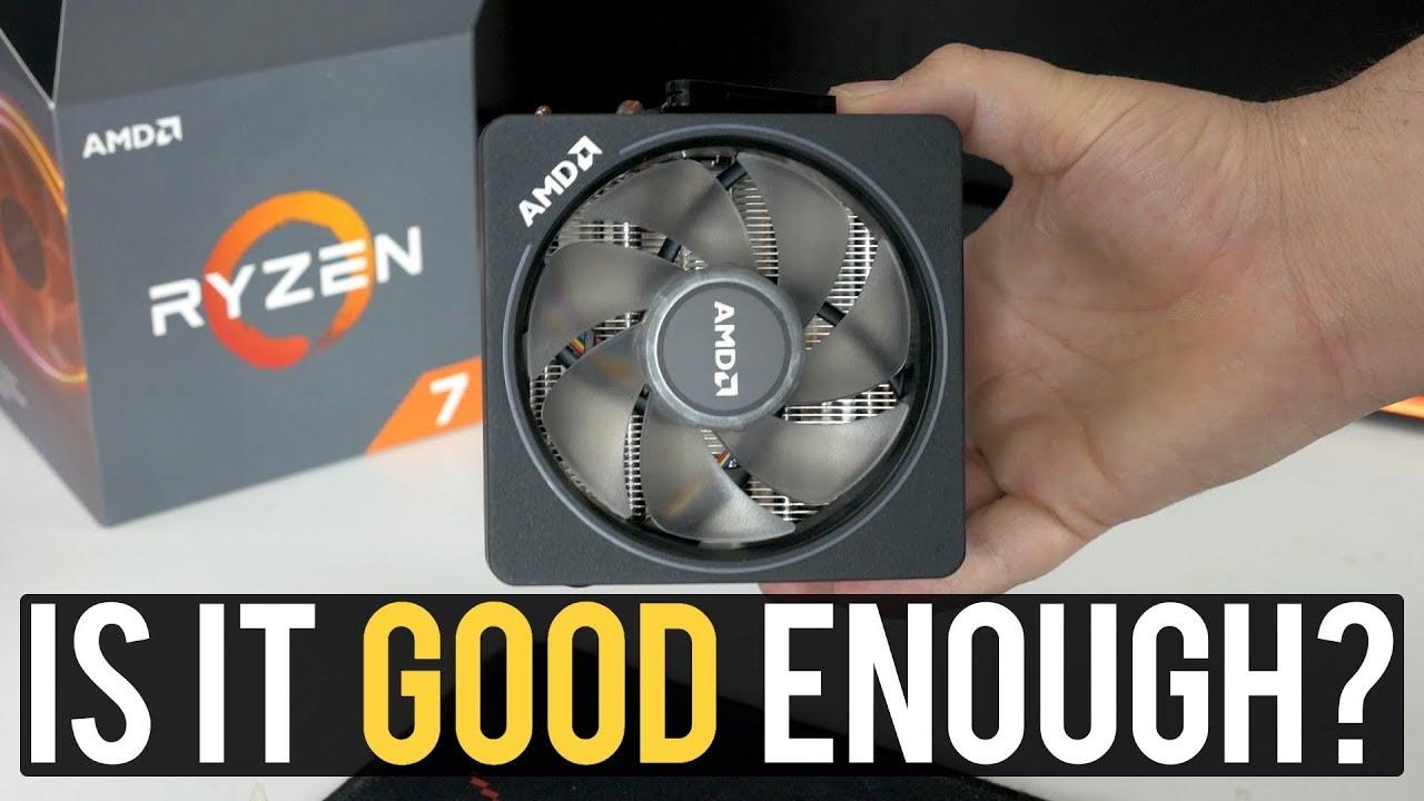 AMD Wraith Prism VS be quiet! Dark Rock 4 on 2700X