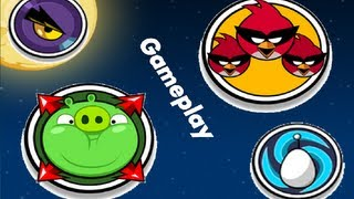 Angry Birds Space - All Power-Ups - Gameplay