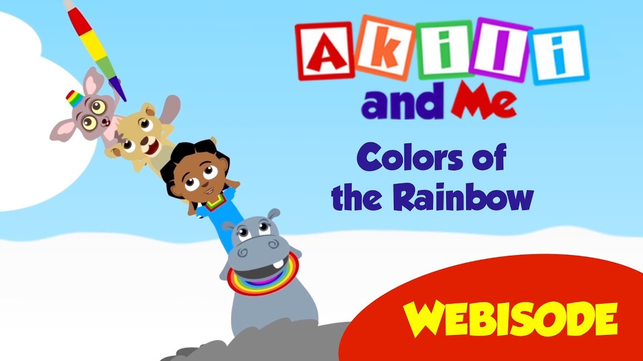 Colors of the Rainbow | Akili and Me Webisode | African Educational Cartoon