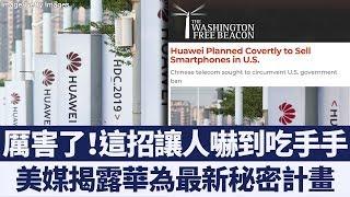 美媒揭露華為最新秘密計畫:偽裝他牌手機混入美國市場|新唐人亞太電視|20190816