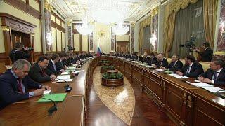 Премьер-министр Михаил Мишустин представил президенту структуру и состав кабинета.