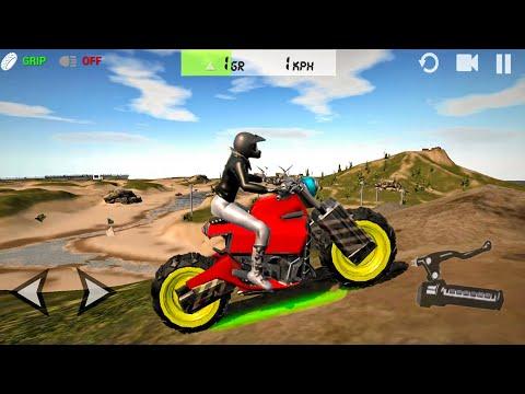 Ultimate Motorcycle Simulator #8 Monster Bike Unlocked! Android gameplay
