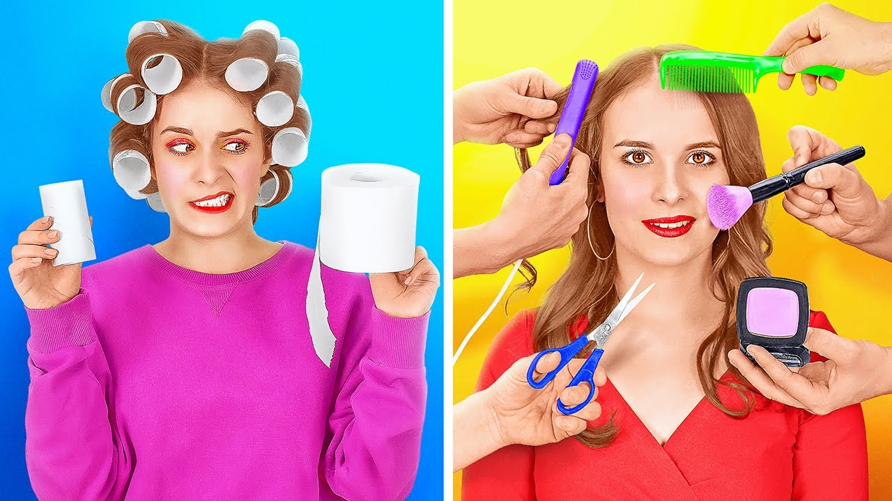 RICH STUDENT VS BROKE STUDENT || Funny Situations And DIY Hacks In Real Life by 123 GO!