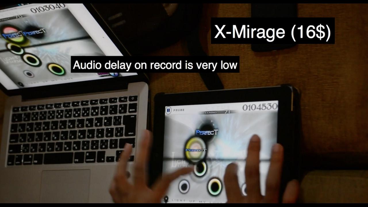 AirPlay receiver showdown : X-Mirage vs  AirServer vs  Reflector 2 vs   LonelyScreen feat  Cytus