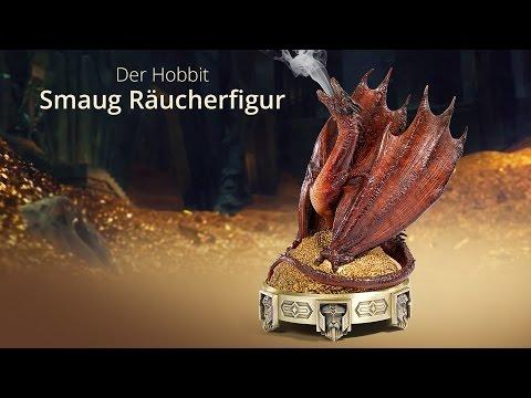 Der Hobbit - Smaug Räucherfigur