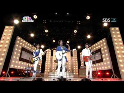 CNblue - Love Light + Love (씨앤블루 - 사랑 빛 + Love) @ SBS Inkigayo 인기가요 100523