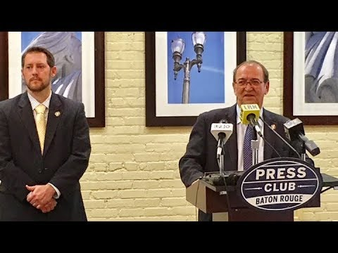 Press Club - 02/26/18 - Secretary Jack Montoucet, Louisiana Department of Wildlife and Fisheries