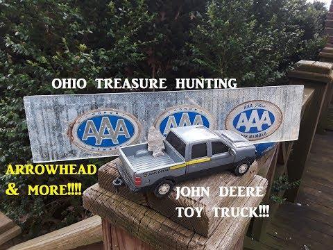 Ohio Treasure Hunting Arrowhead Hunting Archaeology Mudlarking