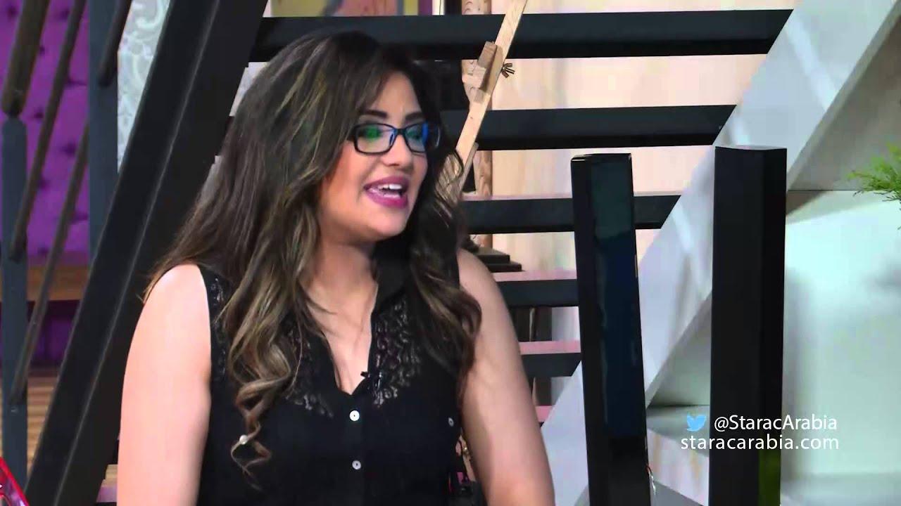 شيرين يحيى في جلسة السوشيل ميديا - Twitter Star Academy 10 01/11/2014 - ستار اكاديمي 10