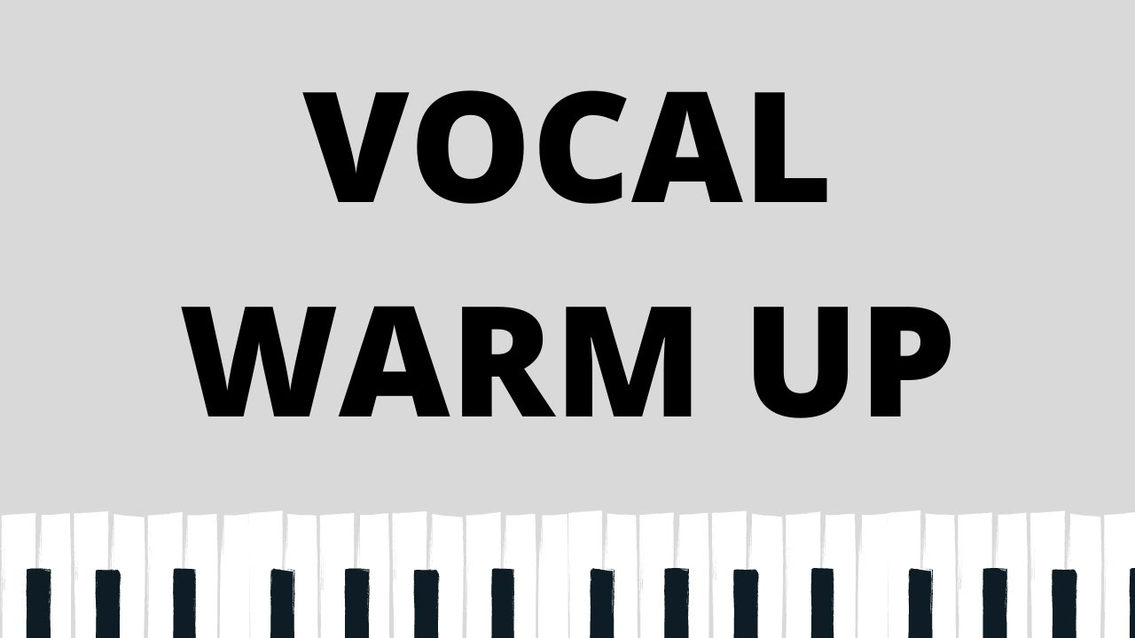 QUICK VOCAL WARM UP EXERCISES