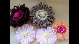 Как сделать цветочек на тенерифе