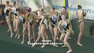 Чемпионат Украины по синхронному плаванию 2017