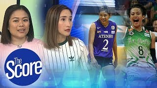 The Score: Alyssa Valdez and Ara Galang, Hardest Hitters to Defend?
