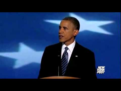 President Obama speaks at DNC - New York Post