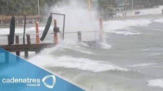 Alerta en Jalisco sobre peligrosidad del huracán Patricia